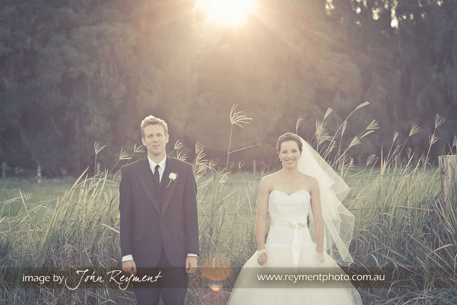 A country wedding at Boonah by Brisbane Wedding photographer, John Reyment