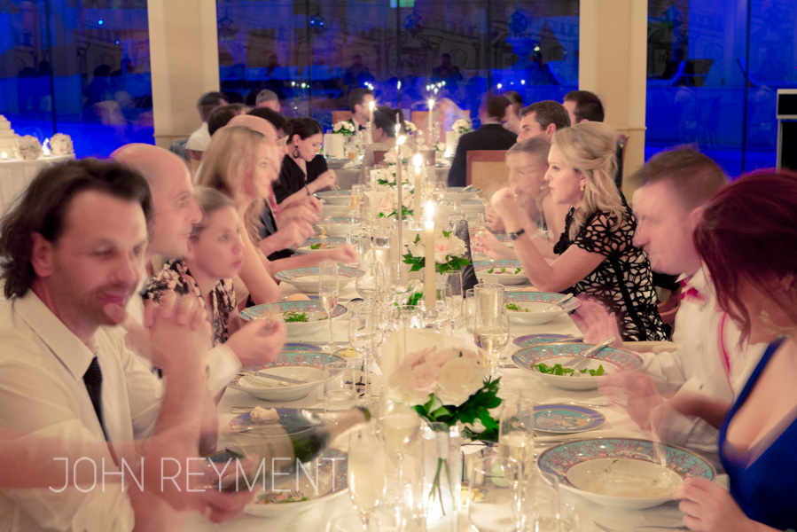 Vanitas Restaurant wedding reception, Palazzo Versace Hotel, Gold Coast