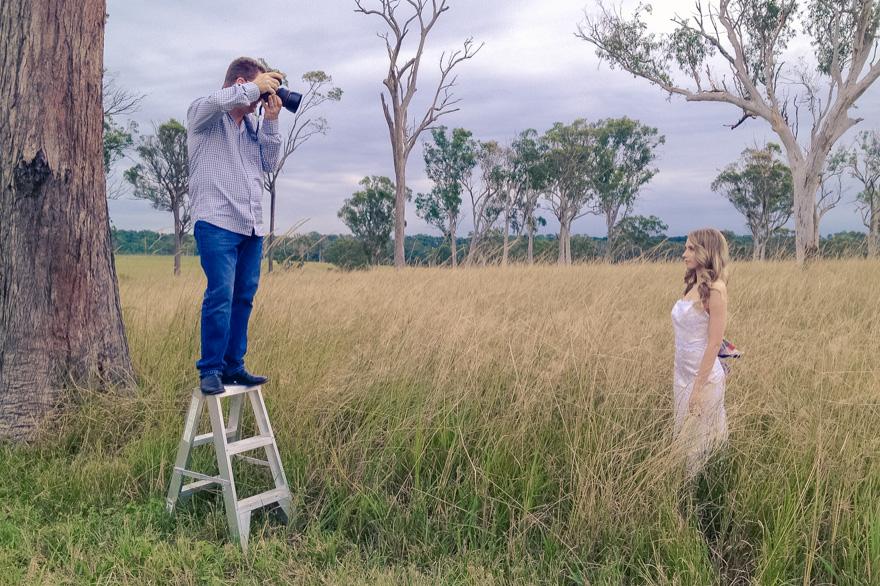 Sirromet winery Queensland Wedding & Bride magazine fashion shoot by John Reyment