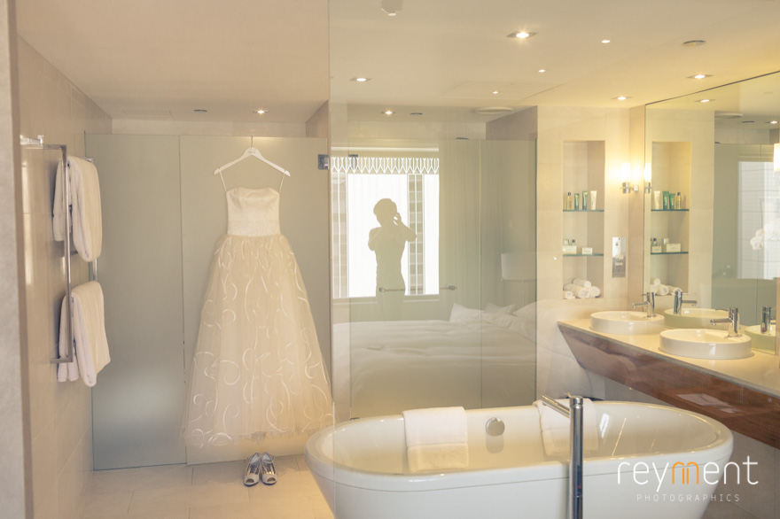 Hilton Brisbane wedding preparations john reyment