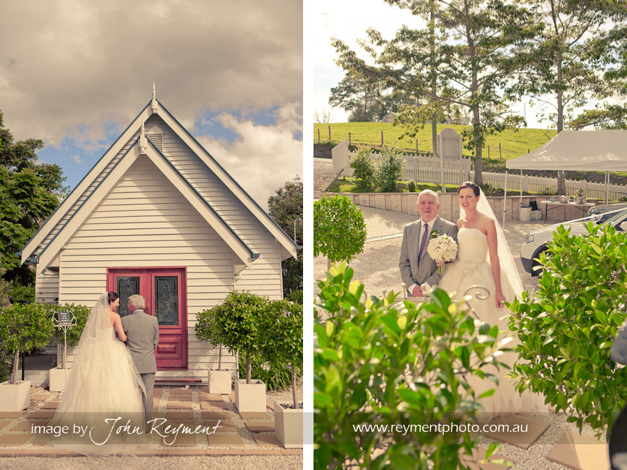 Little White Wedding Church, Vintage wedding chapel Maleny, Sunshine Coast wedding photography, Reyment Photographics, vintage wedding