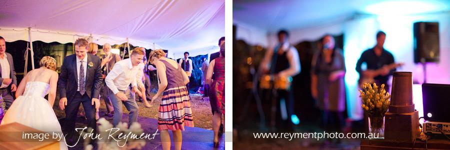 Vintage country wedding reception, Sunshine Coast wedding photographer, Reyment Photographics