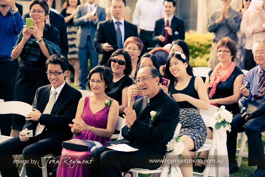 Garden ceremony, The Landing at Dockside, Kangaroo Point, Brisbane wedding photographer, Reyment Photographics