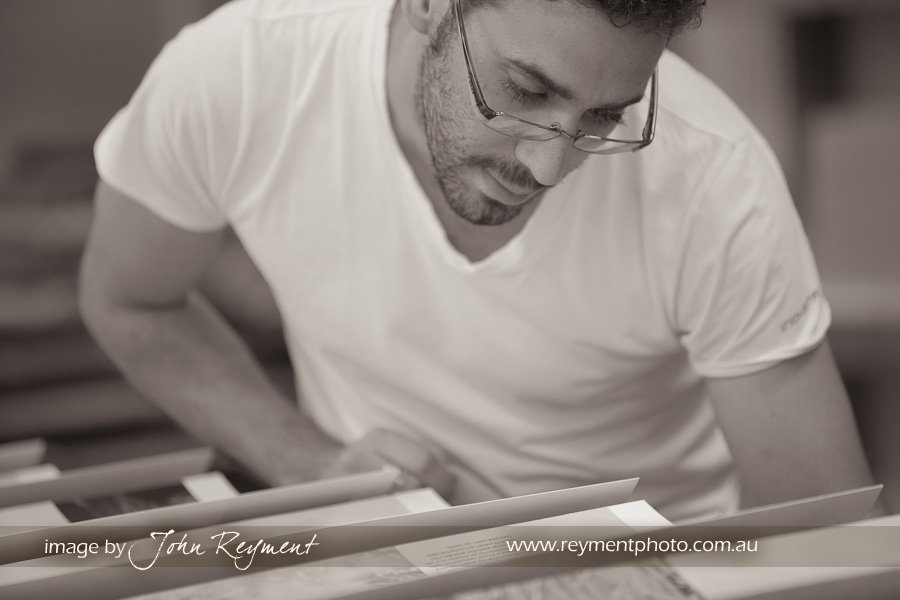 Wedding Photography Brisbane, wedding album production, Photomounts and Albums, John Reyment, Michael Zervos