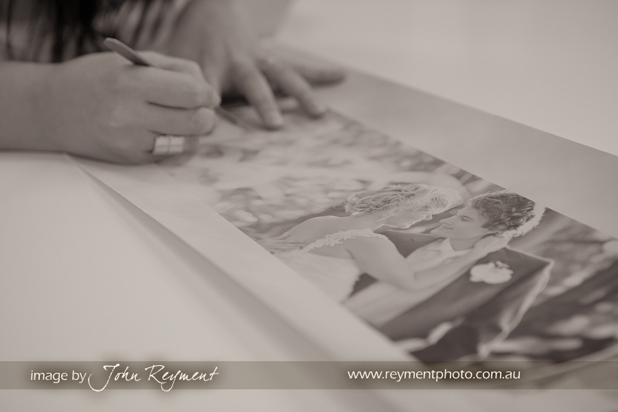 Wedding Photography Brisbane, wedding album production, Photomounts and Albums, John Reyment