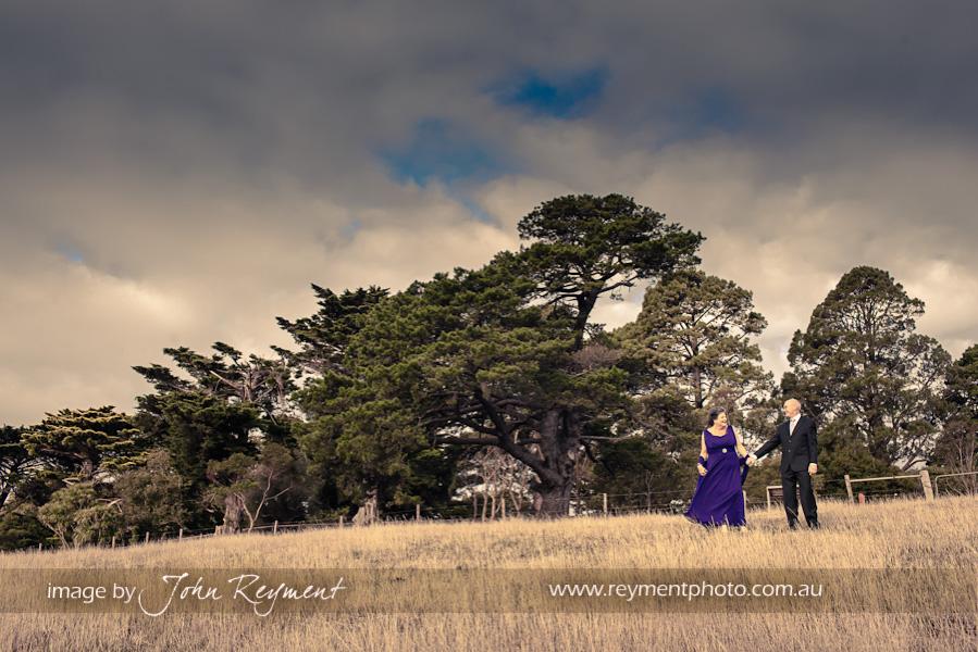 bride and groom, Camperdown, Victoria, wedding photography, John Reyment