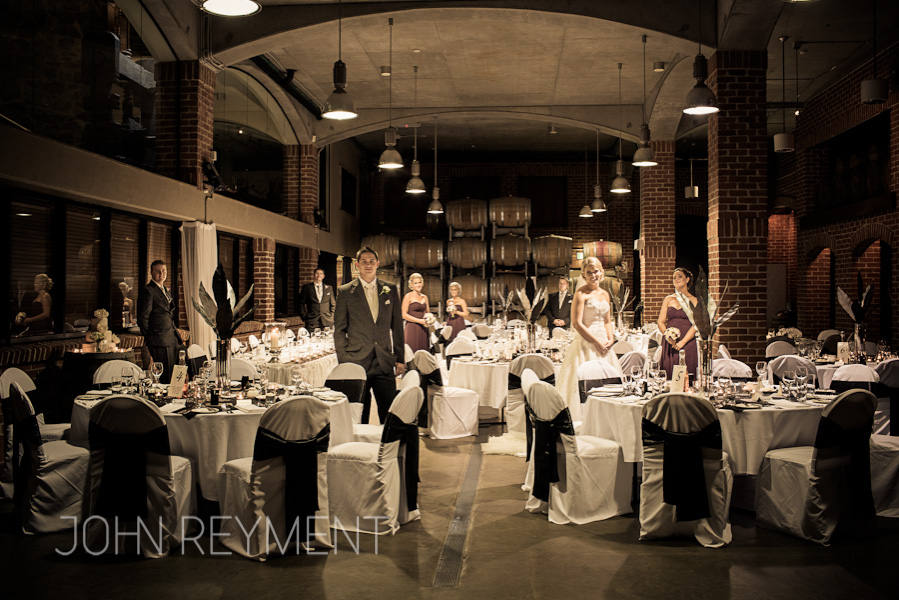 Sirromet wedding, Barrel Hall