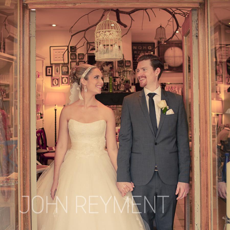 lovebird wedding bride and groom at du Monde by Daryl Wark