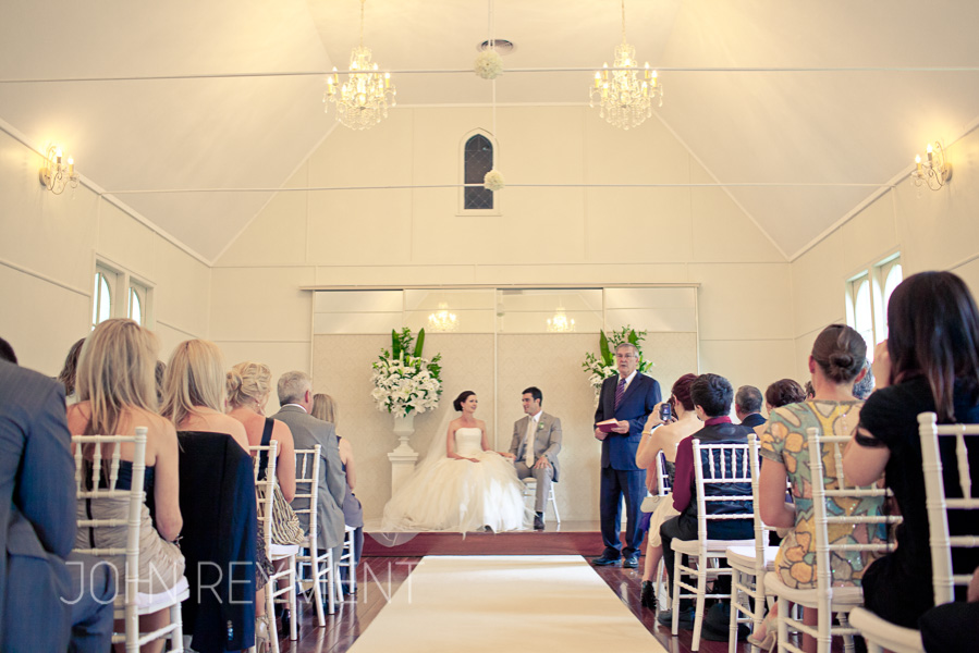 Little White Wedding Church, Maleny Montville professional wedding photography
