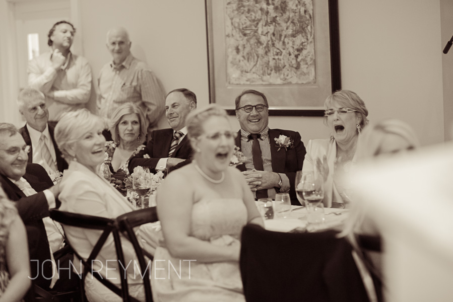 wedding speeches at Spicers Clovelly Estate by Sunshine Coast wedding photographer John Reyment