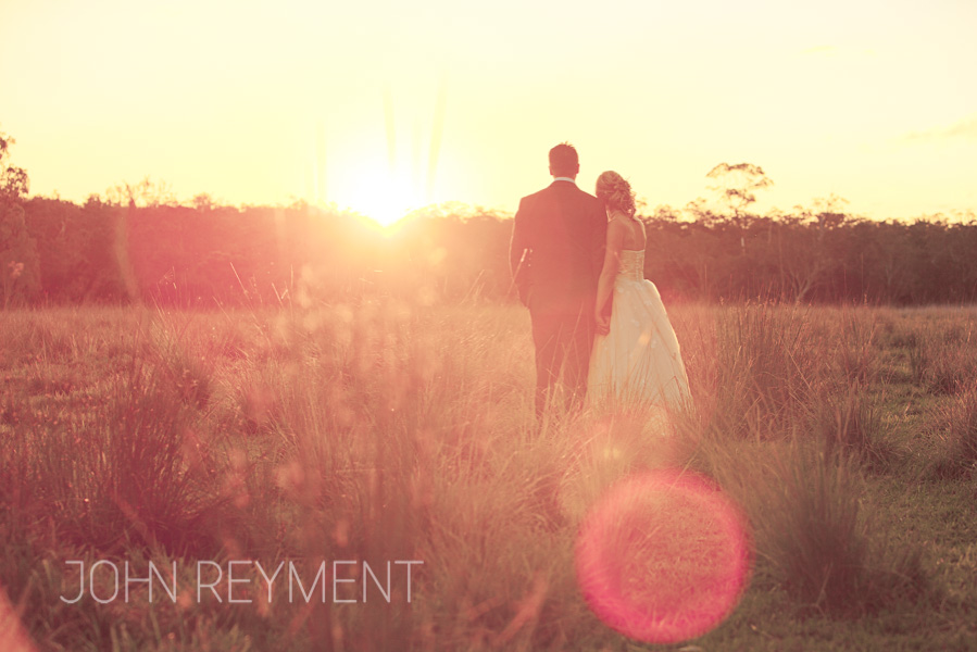 Sunshine Coast sunset by Brisbane wedding photographer John Reyment