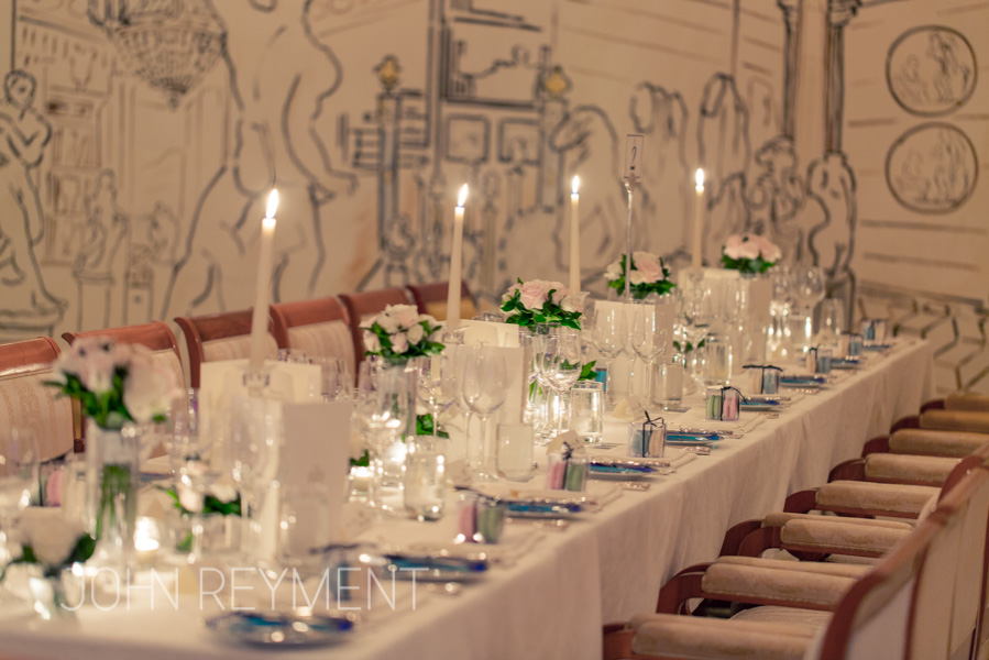 Vanitas Restaurant wedding reception, Palazzo Versace Hotel, Gold Coast