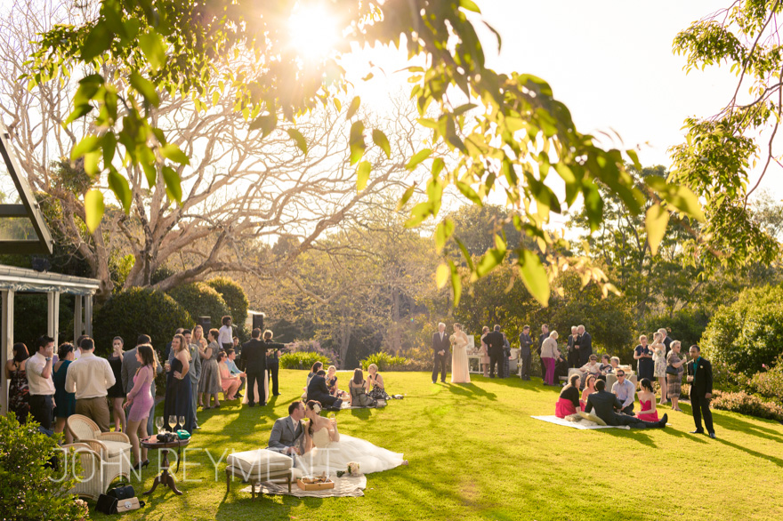 Spicers Clovelly Estate wedding day picnic John Reyment