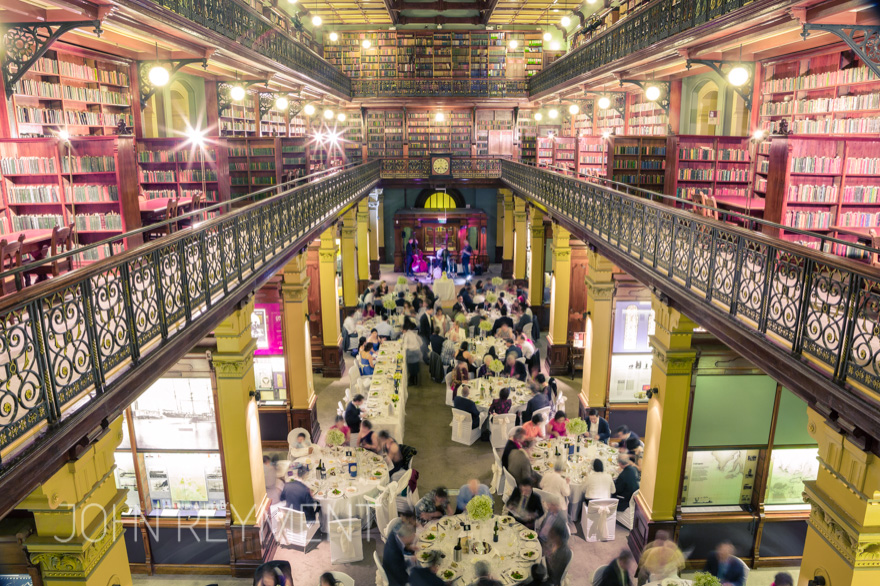 State Library of South Australia wedding reception by John Reyment