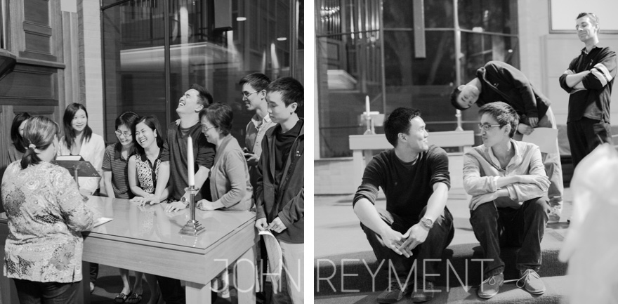 wedding rehearsal at Pembroke School Chapel, Adelaide by wedding photographer John Reyment