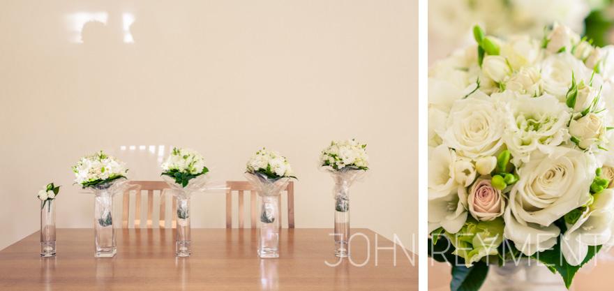 bridal preparations for wedding at Pembroke School Chapel, Adelaide by wedding photographer John Reyment
