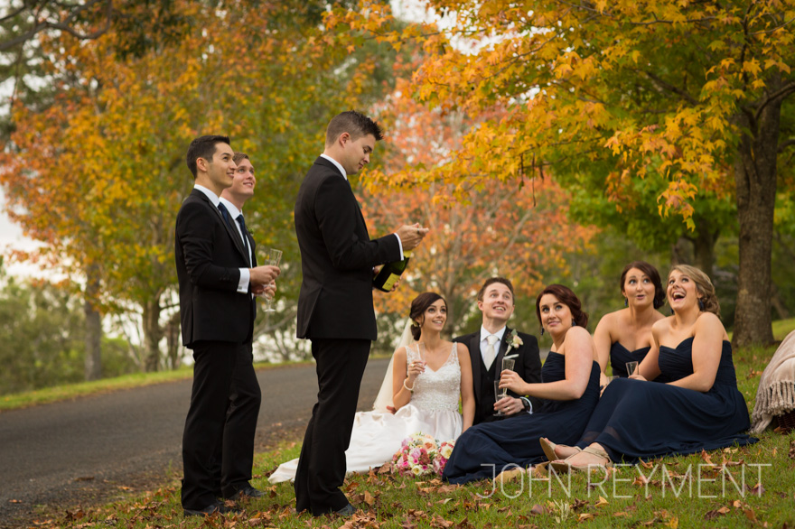 Autumn wedding at Spicers Clovelly Estate