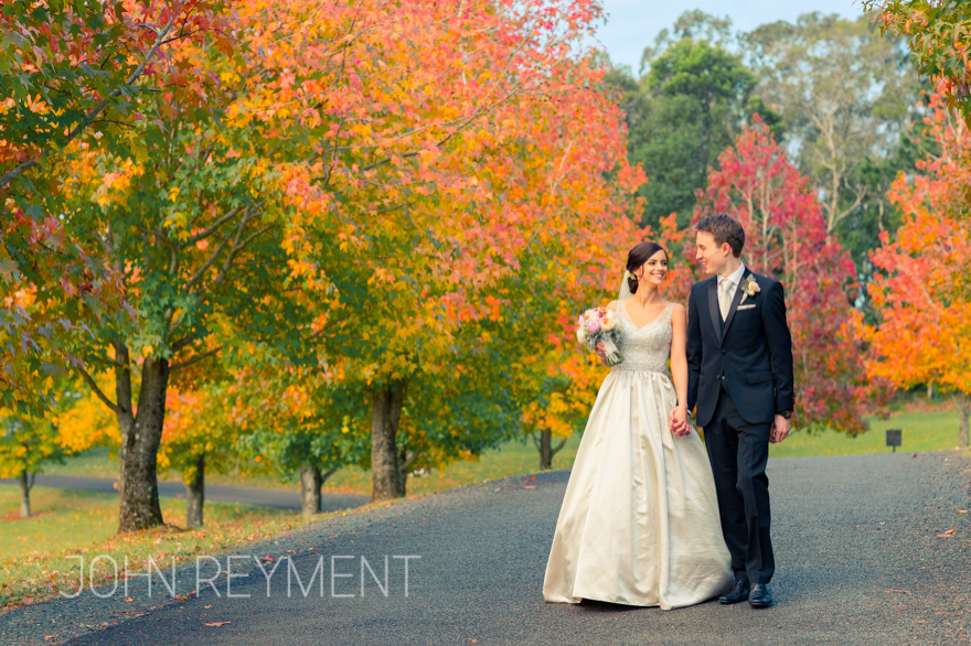 Spicers Clovelly Estate wedding by Brisbane wedding photographer John Reyment