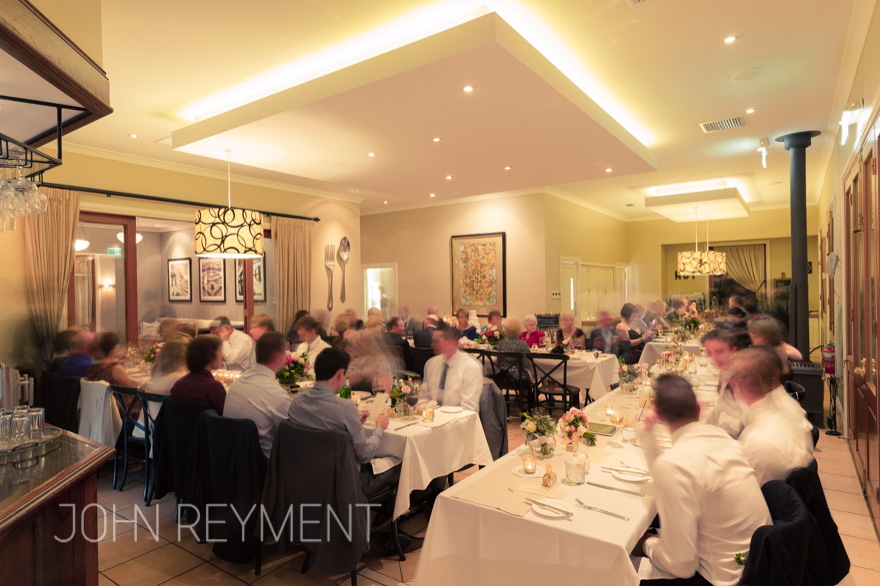 Spicers Clovelly Estate wedding reception by Brisbane wedding photographer John Reyment