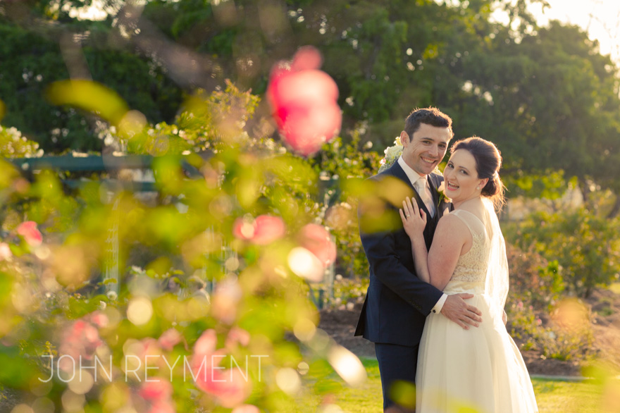 New Farm Park spring wedding  photographer John Reyment