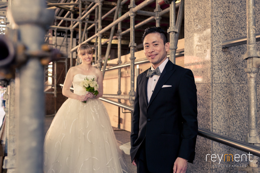 bride and groom photo shoot brisbane cbd